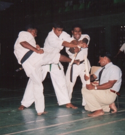 Demonstration at the 2nd open Sri Lanka