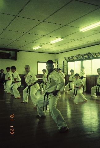3rd Dan test 2001