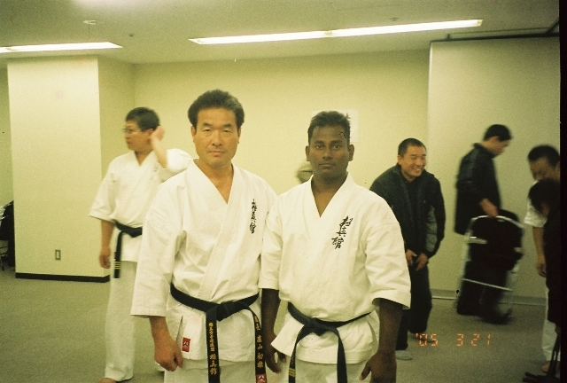 with Kancho Royama