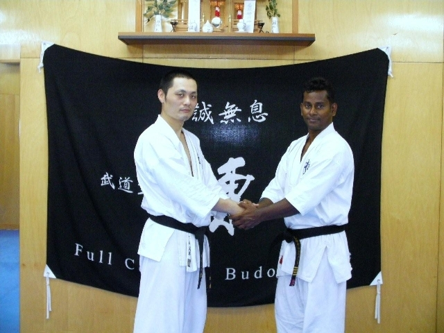 sensei and his  friend Shiahn Mikashima