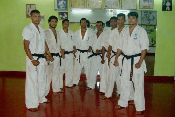 Sri Lanka Honbu-dojo 2009