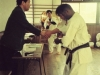 Prasanna Fernando completes the 50 Man Kumite in Japan in year 2001