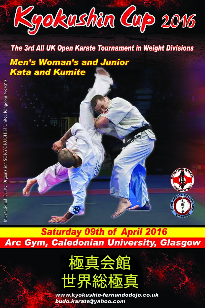 Kyokushin Cup 2016 The 3rd All UK Open Karate Tournament in