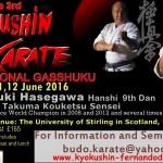 Kyokushin Semianr 2016