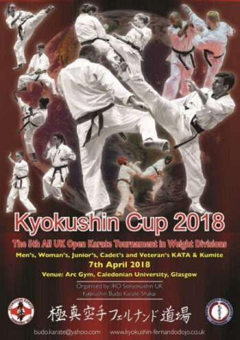 The 5th All UK Open Karate Tournament 2018 Information